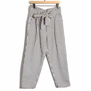 3.1 Phillip Lim Paper Bag Pants Striped Size 8